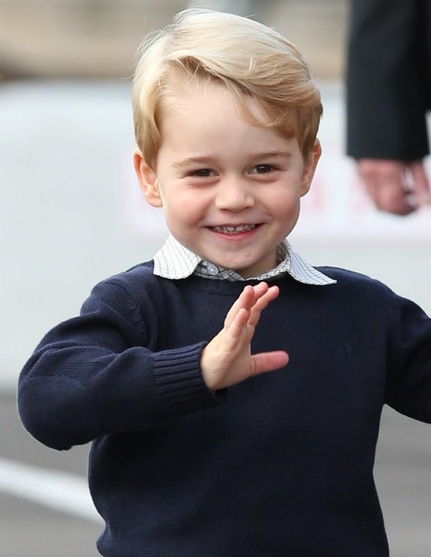Príncipe George em visita ao Canadá, em outubro de 2016 (Foto: Getty images)