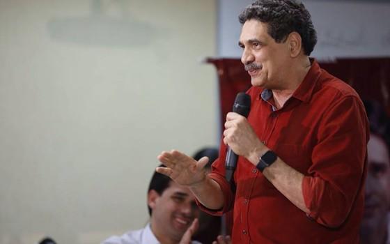 O candidato a prefeito de Recife, João Paulo (PT) (Foto: Divulgação/Facebook)