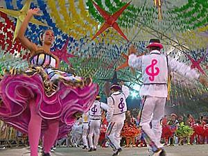 Festival de Quadrilhas da Globo Nordeste (Foto: Reprodução / TV Globo)