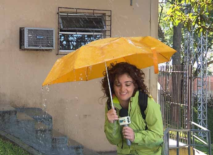 Faça chuva ou faça sol a divertição é garantida. (Foto: Reprodução/RPC)