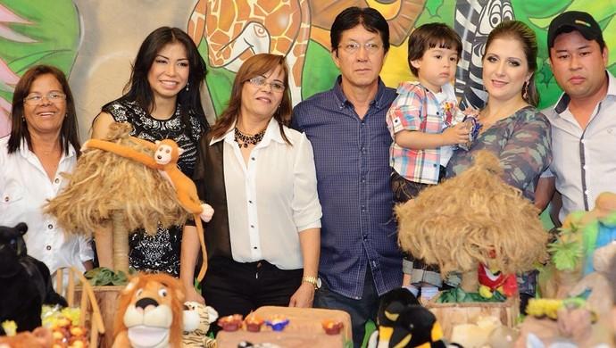 Família Valéria Kumizaki (Foto: Marina Kumizaki / Arquivo Pessoal)