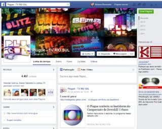 Página do Plugue no Facebook (Foto: Internet)
