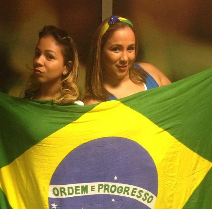Isabelle Silva e a irmã (Foto: Reprodução/Instagram)