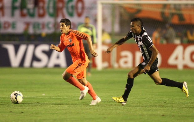 Conca gol Fluminense x Tupi (Foto: Matheus Andrade / Photocâmera)