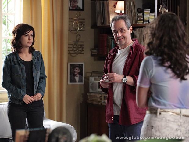 Simone se abre com Gilson (Foto: Sangue Bom / TV Globo)