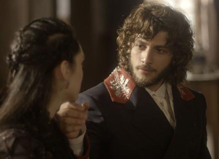 Anna encontra Joaquim e se derrete: 'Meu amor'