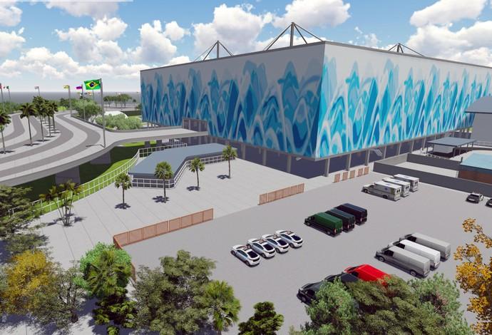 Parque Olímpico - Centro Aquático (Foto: Renato Sette Camara / EOM)