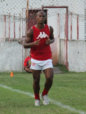 Flávio Boaventura zagueiro do América-RN (Foto: Canindé Pereira/Divulgação)