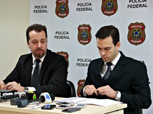 Superintendente da PF-AM falou sobre o caso (Foto: Adneison Severiano/ G1 AM)