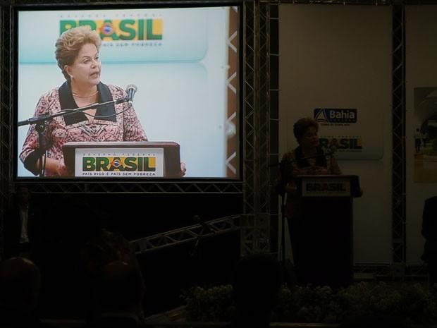 Presidente disse que baianos terão orgulho da mobilidade urbana (Foto: Imagens/G1)