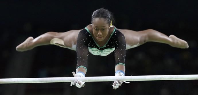 Toni-Ann Williams; Jamaica; ginástica artística; olimpíadas (Foto: Damir Sagolj/Reuters)