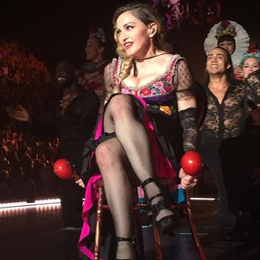 Madonna estreia turnê Rebel heart em Montreal, no Canadá (Foto: Instagram/ Reprodução)