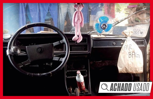 Achado Usado: Lada Laika com visual rat rod (Foto: Autoesporte)