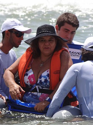 Suely Guimarães, atleta paralímpica (Foto: Katherine Coutinho / G1)