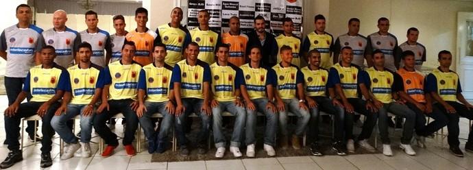 Equipe do Bauru Futsal foi apresentada na última segunda-feira (Foto: Evegntos Assessoria)