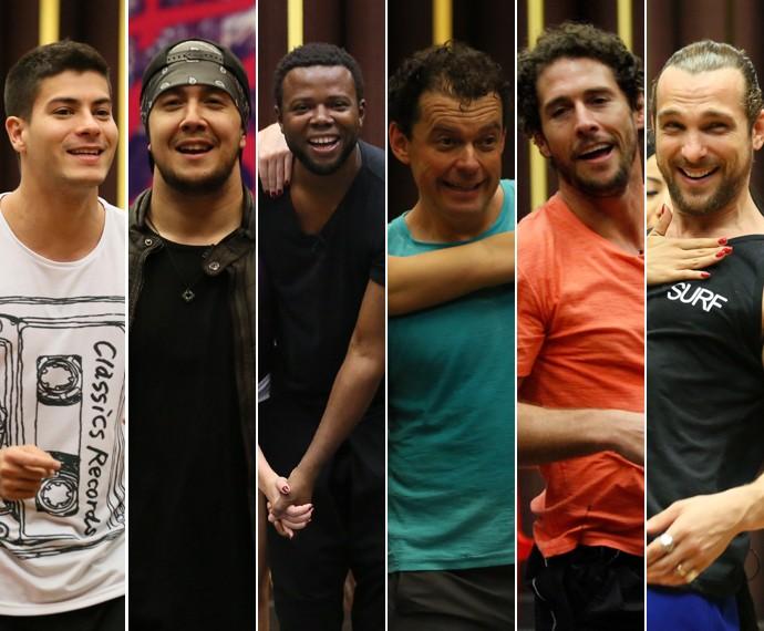 Eles estão sorrindo porque vem coisa boa por aí! (Foto: Isabella Pinheiro/Fabiano Battaglin/Gshow)
