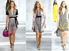 Em clima de primavera, xadrez no estilo 'piquenique' é tendência na semana de moda de Nova York