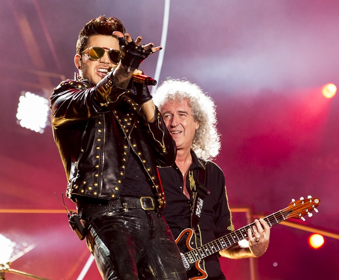 Queen + Adam Lambert no ROck in Rio 2015 (Foto: Felipe Monteiro/Gshow)