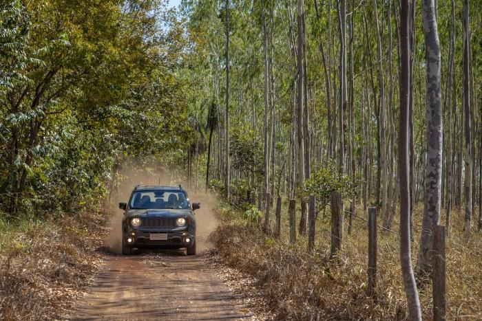 Estávamos no papel de exploradores, do carro, da natureza e da integração entre ambos (Foto: Divulgação)