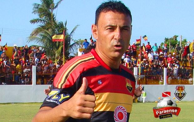 Parazão 2013: Fábio Oliveira, atacante do Santa Cruz de Cuiarana (Foto: Divulgação / Ascom Santa Cruz)