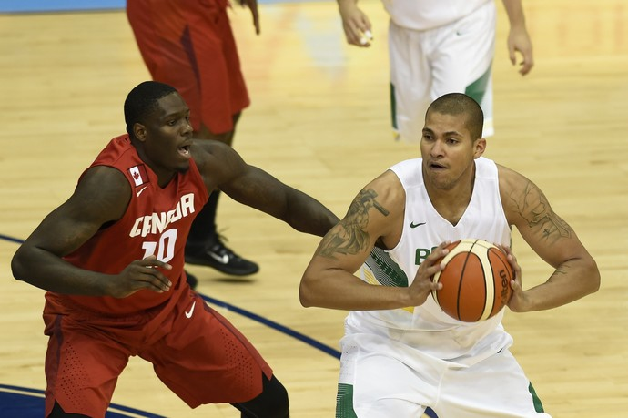 Brasil x Canadá basquete final pan-americano 2015 (Foto: William Lucas/inovafoto)