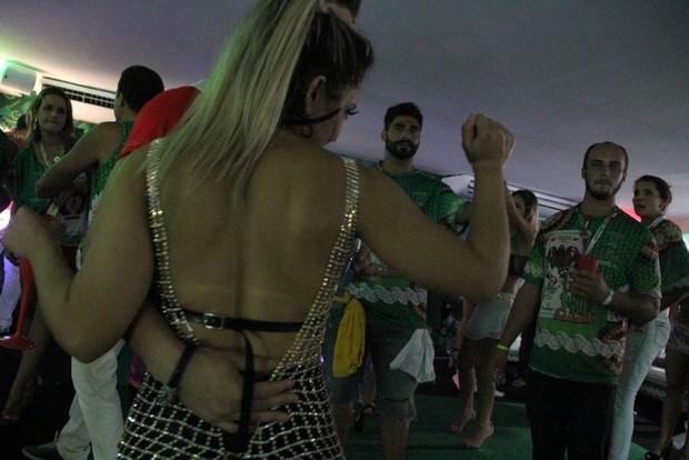 Mulher Melão e Mister Universo Rio de Janeiro (Foto: Rodrigo dos anjos /AgNews)