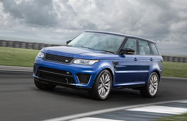 Na Pista Com O Land Rover Range Rover Sport Svr Auto