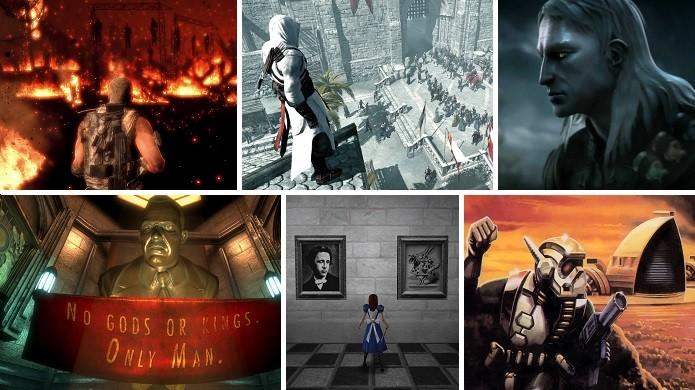 Spec Ops: The Line, The Witcher, BioShock, Dune e outros games adaptados da literatura (Arte: Daniel Ribeiro)