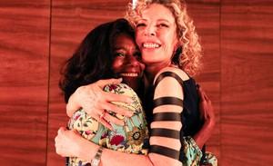 Marília Gabriela recebe Glória Maria no TV Mulher