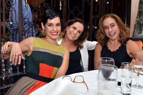 Maria Flor, Letícia Muhana e Cissa Guimarães (Foto: CRISTINA GRANATO)