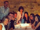 Antonia Morais posta foto da comemoração do seu aniversário