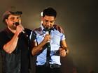 Zezé Di Camargo e Luciano comemoram 22 anos de carreira