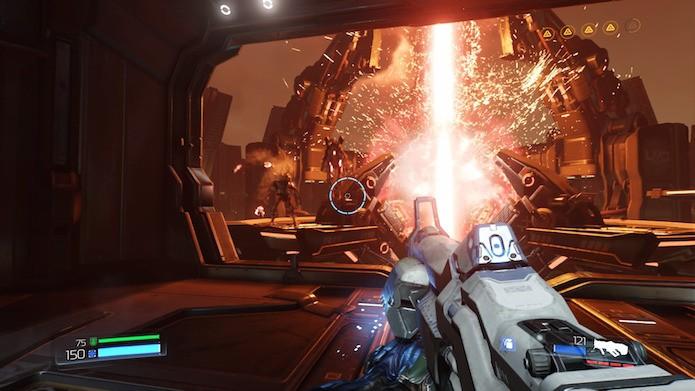 Doom: saiba como jogar o shooter no PS4, Xbox One e PC (Foto: Reprodução/Victor Teixeira)