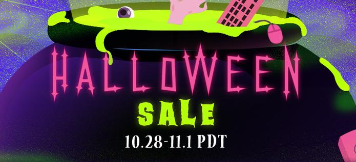 Promoção de Halloween está no ar no Steam (Foto: Reprodução/Felipe Vinha)