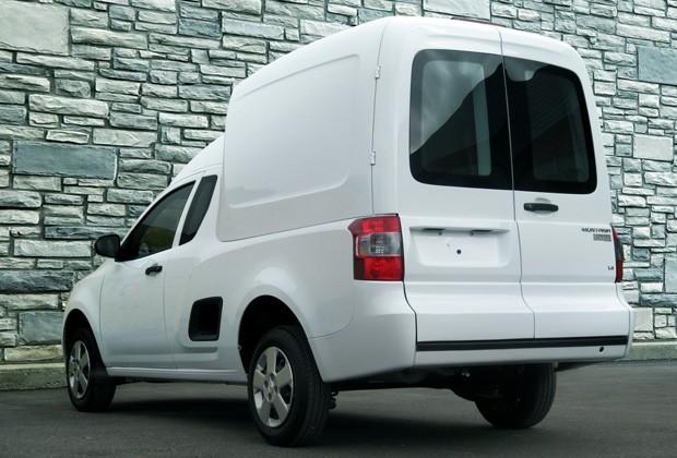 Chevrolet Montana Combo parte tem volume de carga de 3,3 metros cúbicos (Foto: Divulgação)
