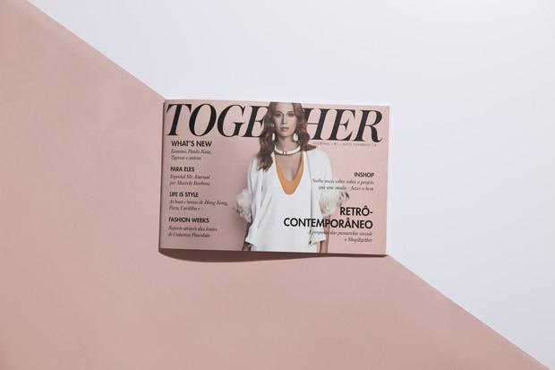 Together Journal, a primeira publicação impressa do Shop2gether (Foto: Reprodução)