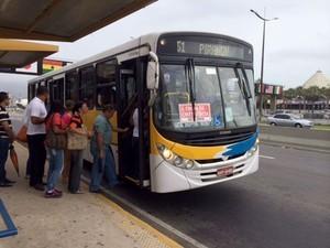 ônibus natal (Foto: Fernanda Zauli/G1)