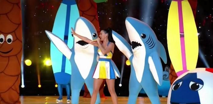Left Shark de Katy Perry é um easter egg escondido no site do Google IO 2015 (Foto: Reprodução/YouTube)