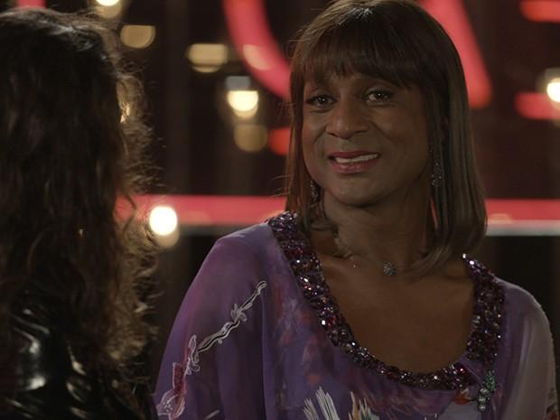 Dorothy Benson dá um depoimento emocionado (e emocionante) sobre diversidade (Foto: Parker TV)