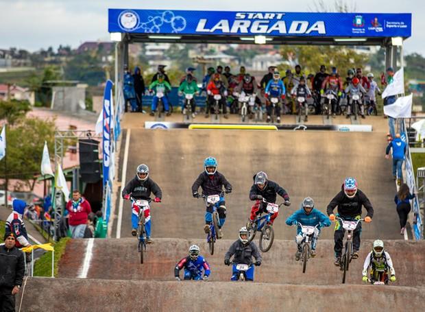 Campeonato Brasileiro de BMX (Foto: Divulgação/ RPC)