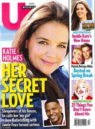 Katie Holmes na capa da Us Weekly (Foto: Reprodução/Divulgação)
