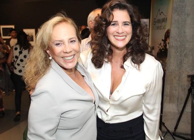Lúcia Veríssimo e Arlete Salles  (Foto: Wallace Barbosa/AgNews)