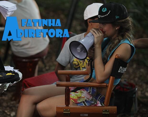 Fatinha: a diretora! (Foto: Malhação / TV Globo)