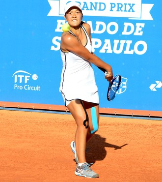 Harmony Tan, francesa, tênis, ITF Bauru (Foto: Divulgação / Éric Visintaier)