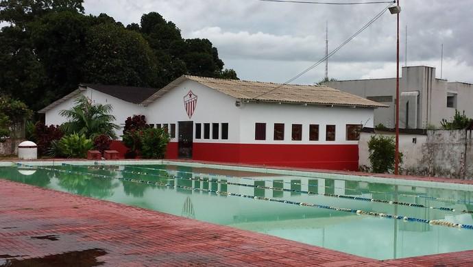 Piscina e academia do CT José de Melo, do Rio Branco (Foto: Manoel Façanha/Arquivo pessoal)