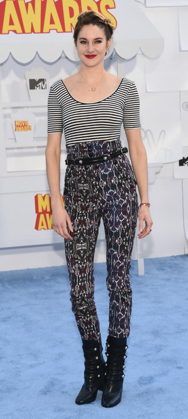 Shailene Woodley disse ser apaixonada por seres humanos (Foto: Getty Images)