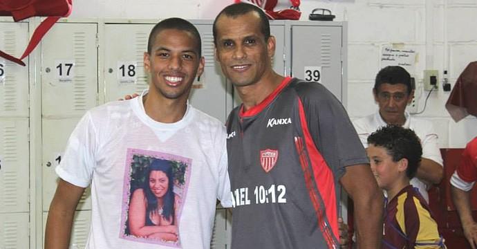Rivaldo e Rivaldinho (Foto: Rafael Bertanha/ E Aí? Produções)