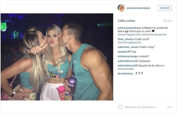 Ex-BBB Julia Nunes (Foto: Instagram / Reprodução)