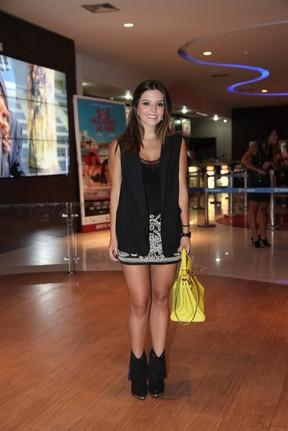 Giovanna Lancellotti em pré-estreia no Rio (Foto: Claudio Andrade / Foto Rio News)