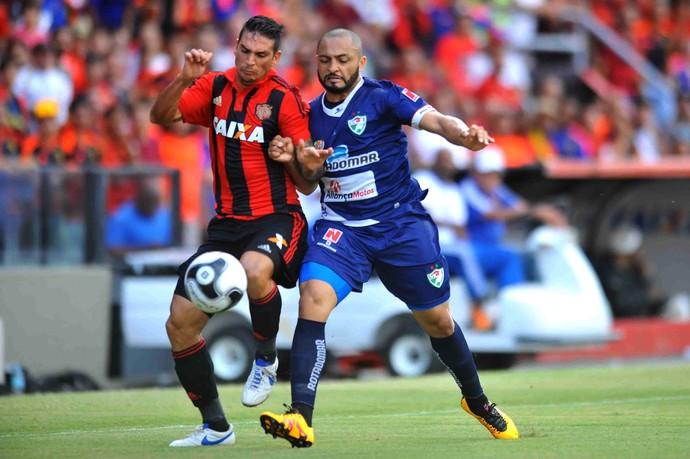 Mark González Sport x Salgueiro (Foto: Aldo Carneiro / Pernambuco Press)